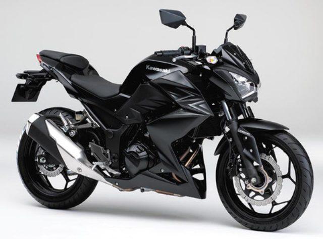 画像: カワサキ「Z250 ABS」の2016年カラーはオールブラックで登場!