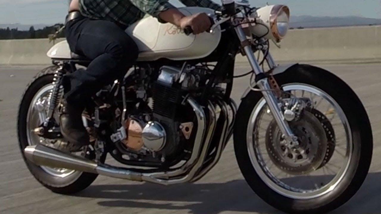 画像: Kott Motorcycles 1971 Honda CB750 Custom Cafe Racer GoPro Hero 3+ www.youtube.com