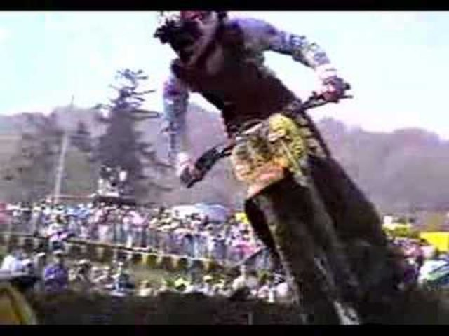 画像: Just JMB: Jean-Michel Bayle - video from 1989 500 Nationals youtu.be