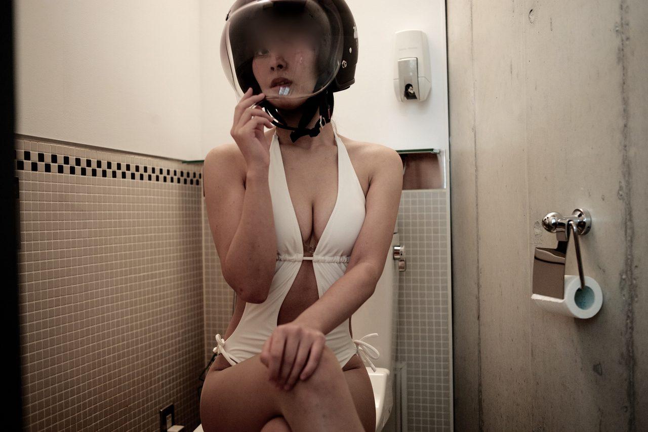 画像1: グラビア【ヘルメット女子】SEASON-XV 007+1