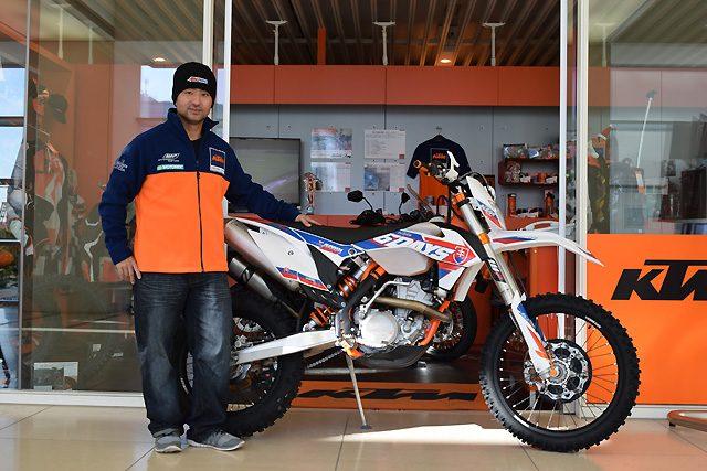画像: 【KTM】小池田猛選手JNCCにカムバック