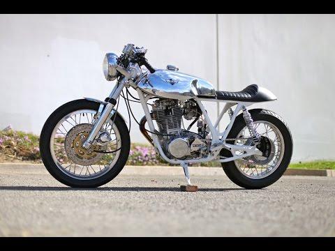 画像: Yamaha SR500 Cafe Racer by Chappell Customs www.youtube.com