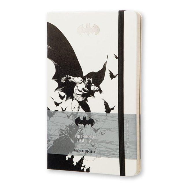 画像: 限定版 バットマン ノートブック|ハードカバー ルールド(横罫)Large / Moleskine Online Store(モレスキンオンラインストア)