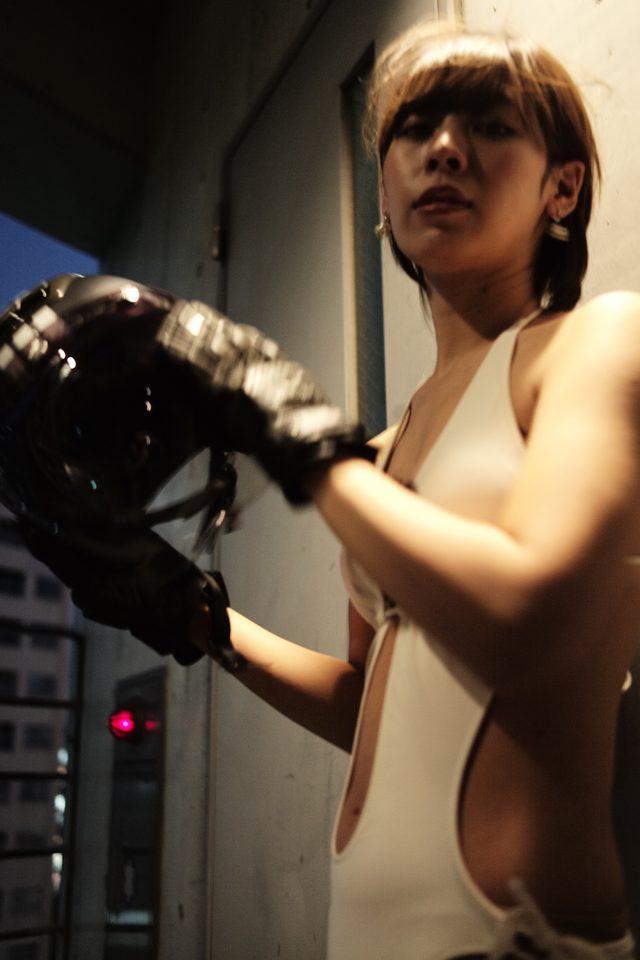 画像1: グラビア【ヘルメット女子】SEASON-XV 011-2