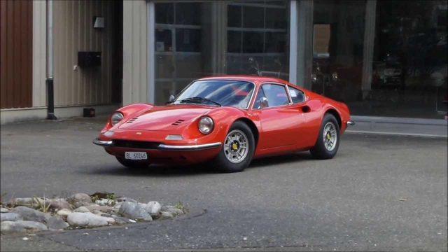 画像: Dino 246 GT on the road youtu.be