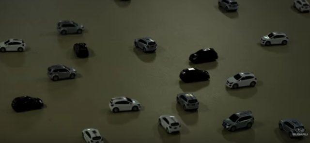 画像: 【動画】自動制御装置を搭載したSUBARUのミニカーを駐車場に走らせたら…あら!なんともファンタジーな空間に大変身! - LAWRENCE(ロレンス) - Motorcycle x Cars + α = Your Life.