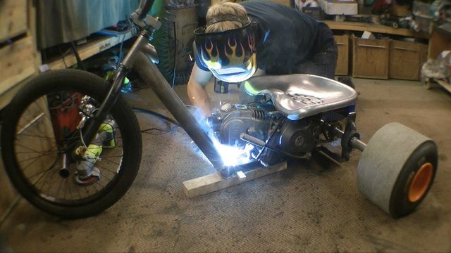 画像: Making a Motorised Drift Trike youtu.be