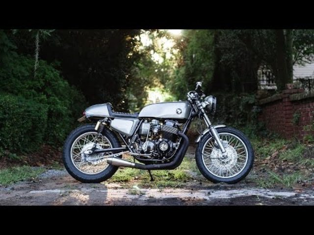 画像: Honda CB750 Cafe Racer by Kitchen Moto Custom www.youtube.com