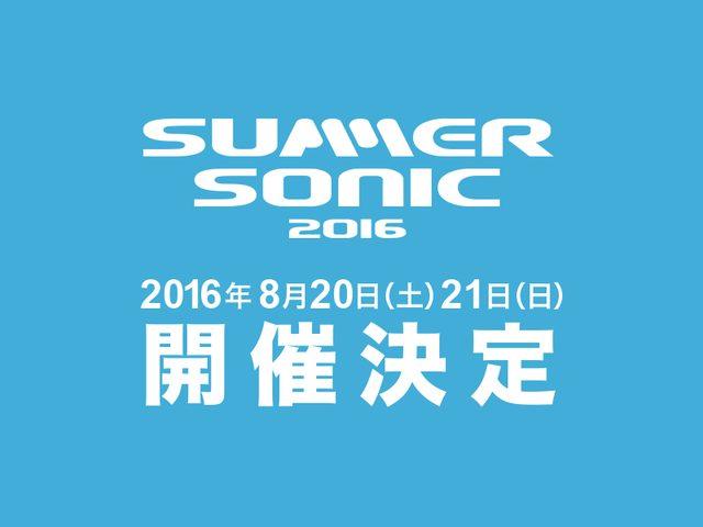 画像: SUMMER SONIC 2016