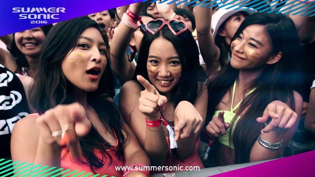画像: SUMMER SONIC 2016 1st ANNOUNCEMENT youtu.be