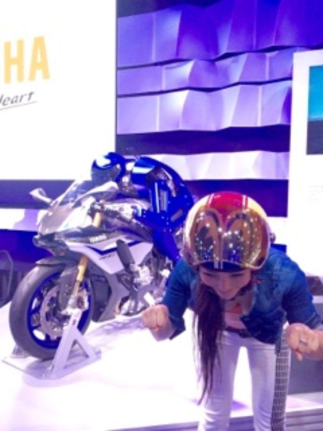 画像: <理子のいまさらTMS2015> ロボットも3輪もカッコイイ!(福山理子)