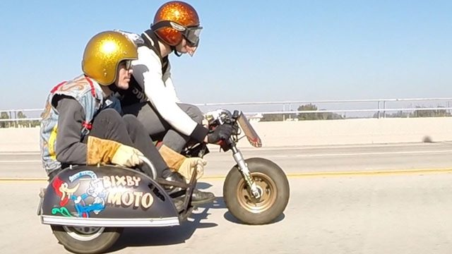 画像: Bixby Moto Honda Z50 Minibike Sidecar Deus Ex Machina Motorcycles Award Winner GoPro Hero 3+ www.youtube.com