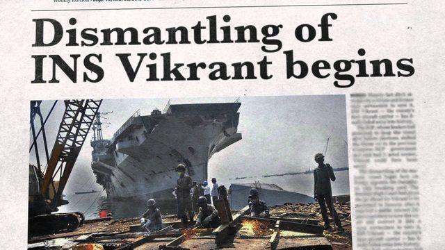 画像: Bajaj V - the rebirth of INS Vikrant (English) www.youtube.com