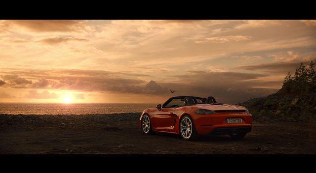 画像: The new Porsche 718 Boxster - Sunset Again www.youtube.com