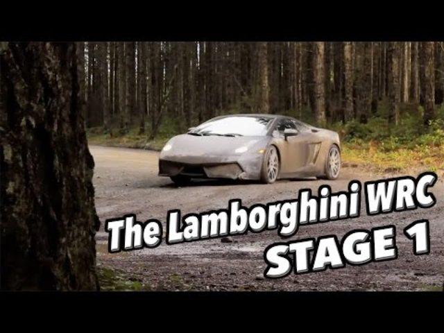 画像: The Lamborghini WRC - Stage One youtu.be