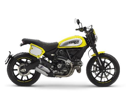 画像: Ducati Scrambler Italia Independent Italia Independent とのコラボモデル。世界限定 1077 台!