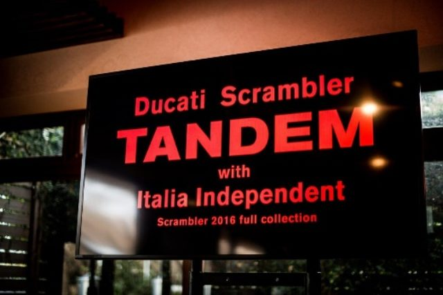 画像2: 2016ドゥカティ スクランブラーファッション業界とタンデム開始しました!!