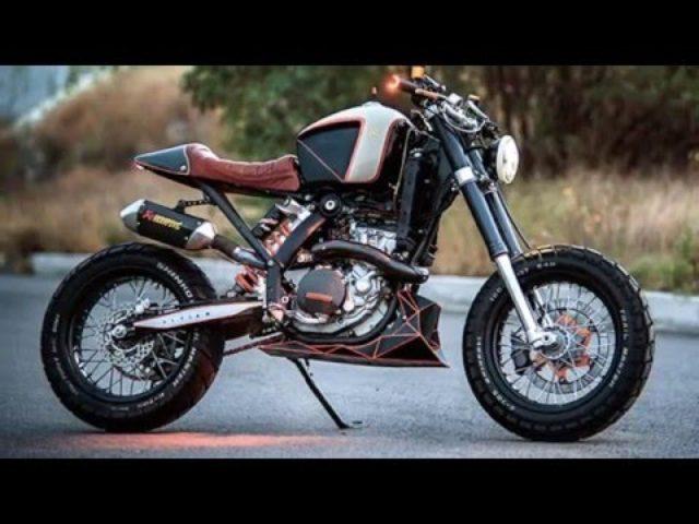 画像: Custom KTM 450 by Vitium Moto www.youtube.com