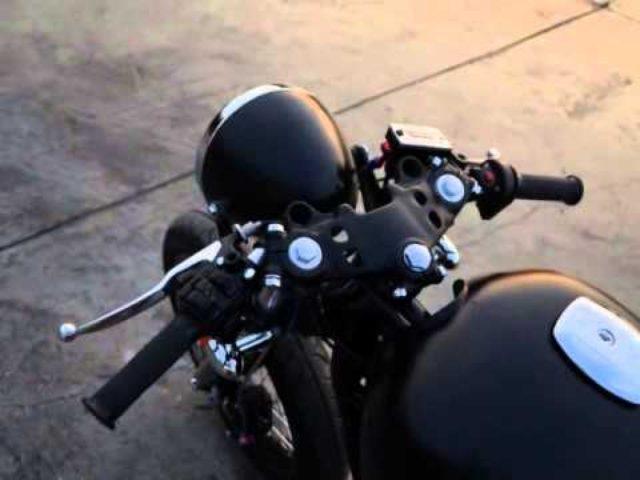画像: WAR MACHINE : suzuki GS400 Build by max motorcycles www.youtube.com