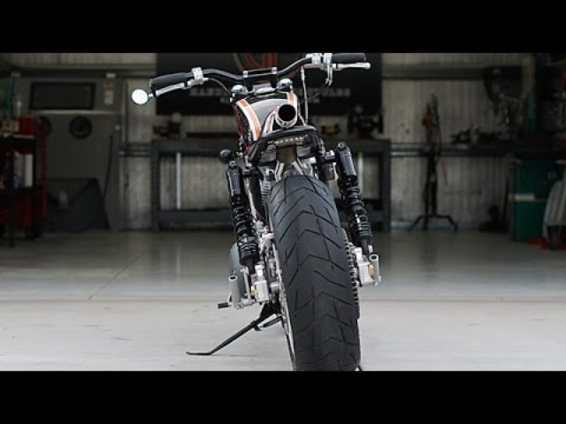 画像: Harley Davidson Sportster Tracker by DP Customs www.youtube.com