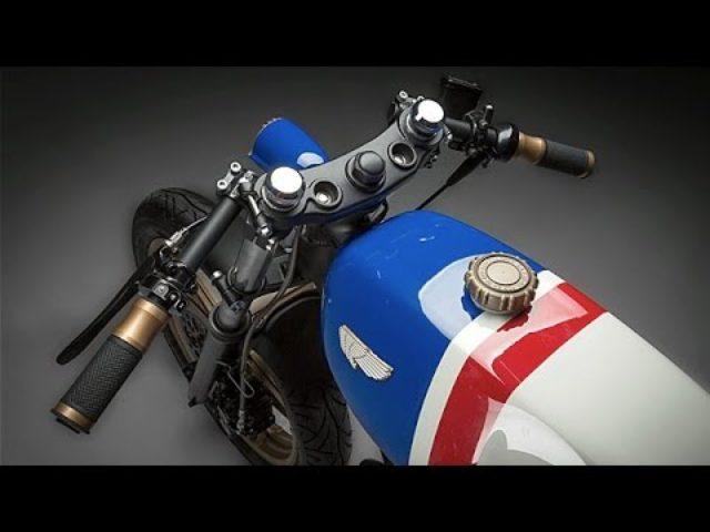 画像: Honda FT500 Cafe Racer by H Garage www.youtube.com