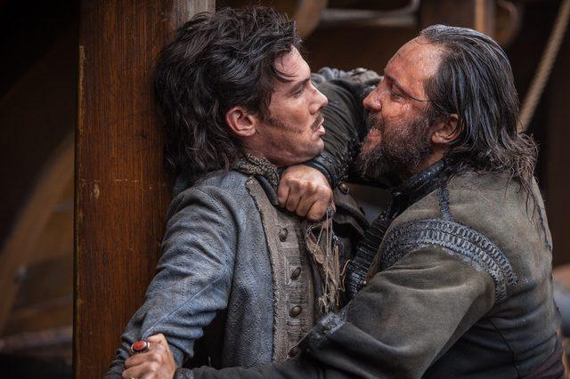 画像1: HuluとdTVが初タッグ!日本初上陸のドラマを2社共同独占配信エミー賞®2冠の海外ドラマ「Black Sails/ブラック・セイルズ」大人気の海賊 ネッド・ロウ船長もついに登場!
