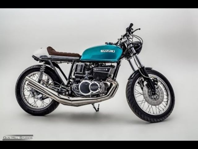 画像: Suzuki GT550 Custom Cafe Racer by Reverb Motorcycles www.youtube.com