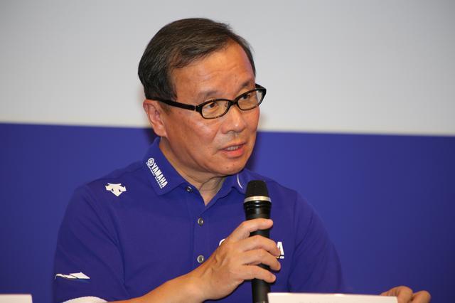画像: ヤマハ発動機の代表取締役副社長の木村隆昭氏。