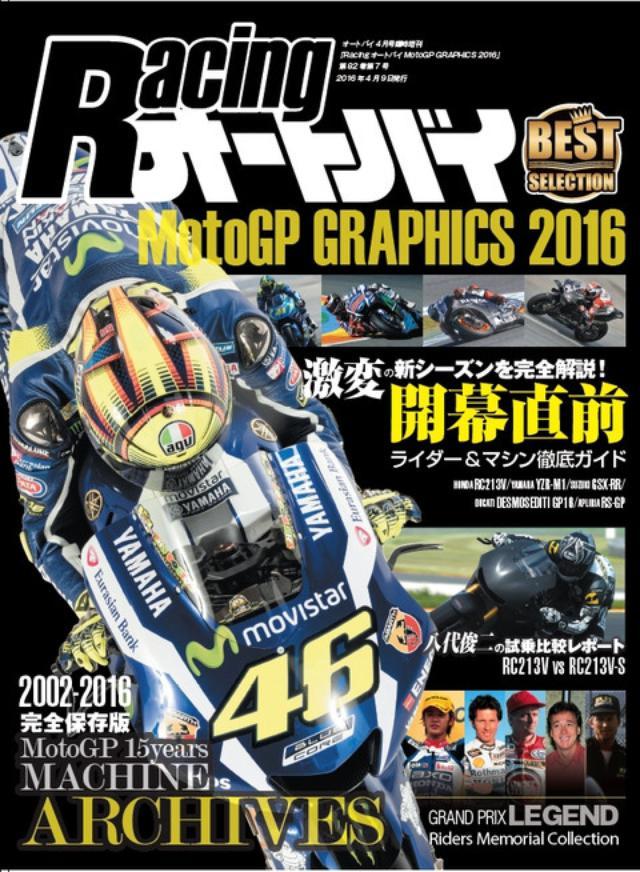 画像: <臨時増刊>レーシングオートバイ2016、発売です
