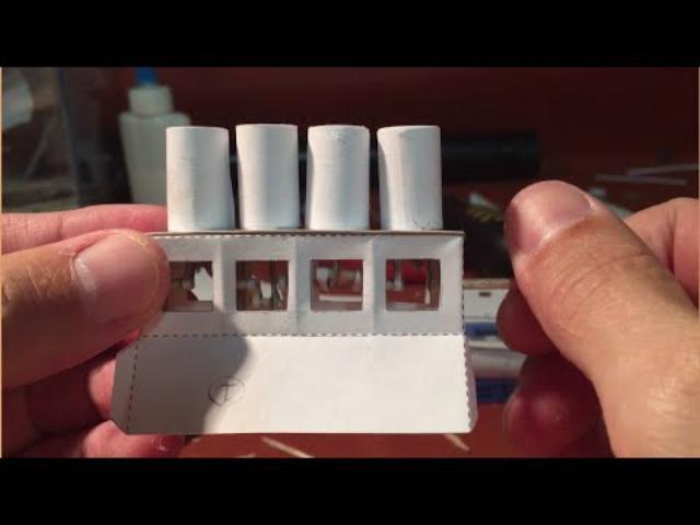 画像: 4 Cylinder paper engine youtu.be