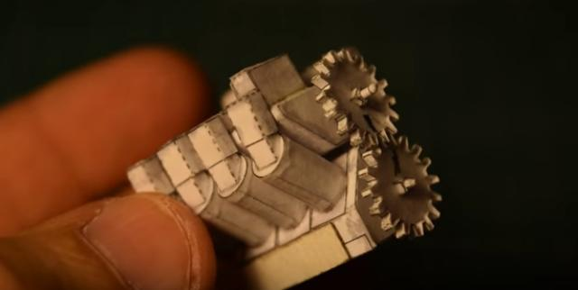 画像2: 【動画】紙でできたV8、V6エンジン4シリンダーもあるよ〜〜!1つ選べるならどれが欲しい??