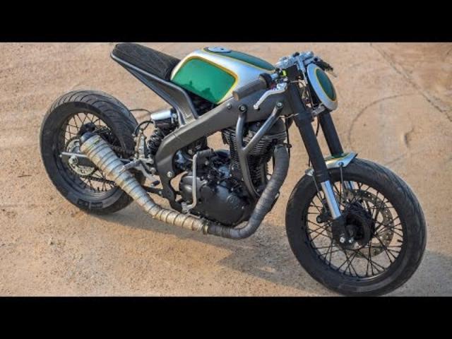 画像: Modern Cafe Racer by Inline3 Custom Motorcycles www.youtube.com