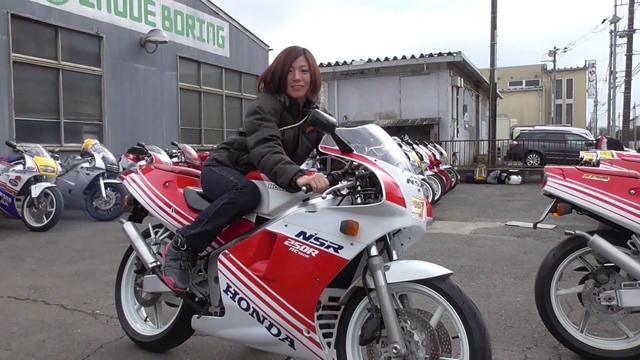 画像: 88年式 HONDA NSR250R エンジン始動 youtu.be