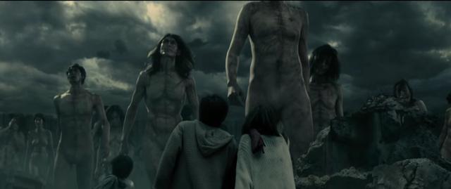 画像: 気持ち悪さはうまく表現できている巨人たち http://www.shingeki-seyo.com/