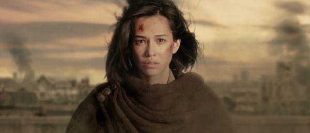 画像: 調査兵団の優秀な兵士ミカサを演じるのは水原希子。 www.shingeki-seyo.com