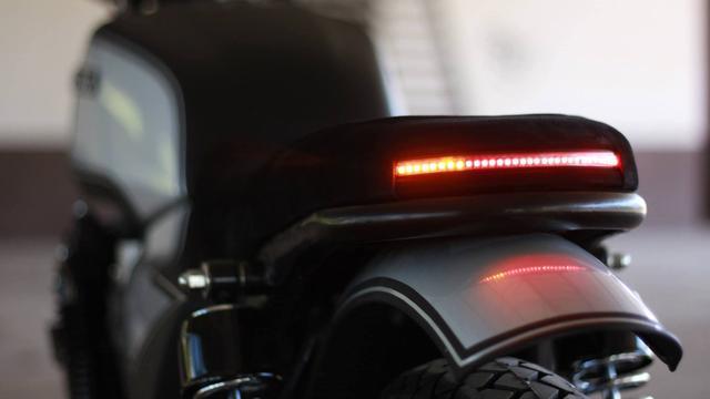 画像: Custom Honda CB750 by French Monkeys www.youtube.com