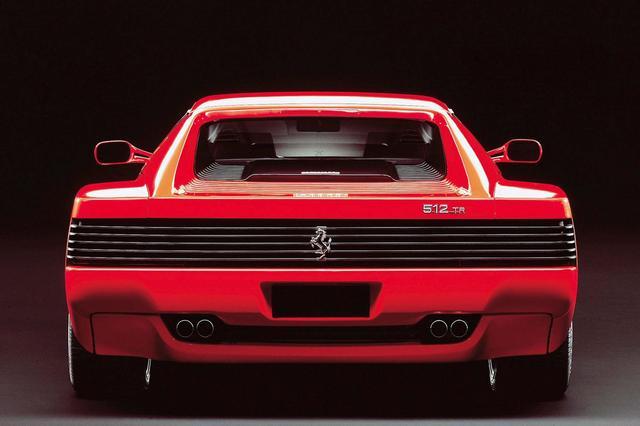 画像: Ferrari 512TR s.petrolicious.com
