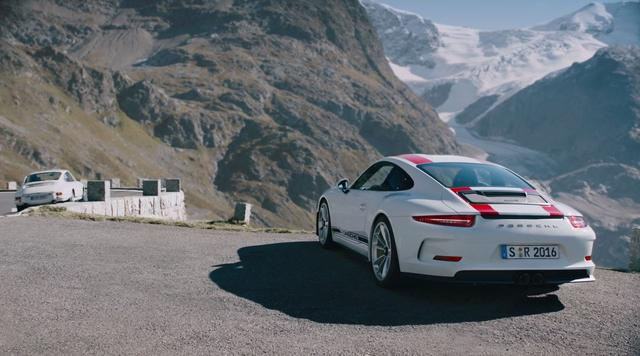 画像: The new 911 R. Old school. New thrill. www.youtube.com