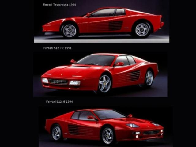 画像: Ferrari Testarossa、512TR、512M passionemotori.myblog.it