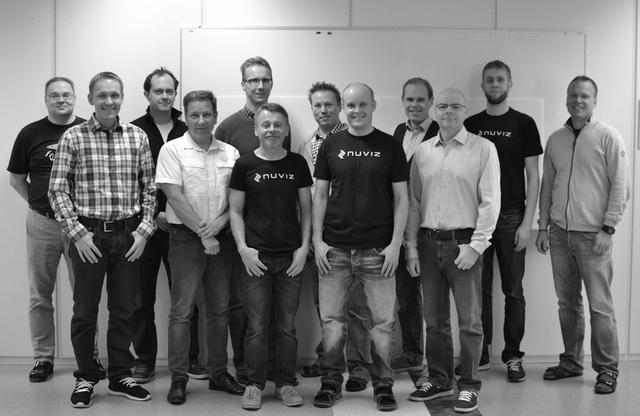 画像: スタッフさん達ですが大部分があのNOKIAで働いていた人達とか、オフィスもフィンランドです。 www.ridenuviz.com