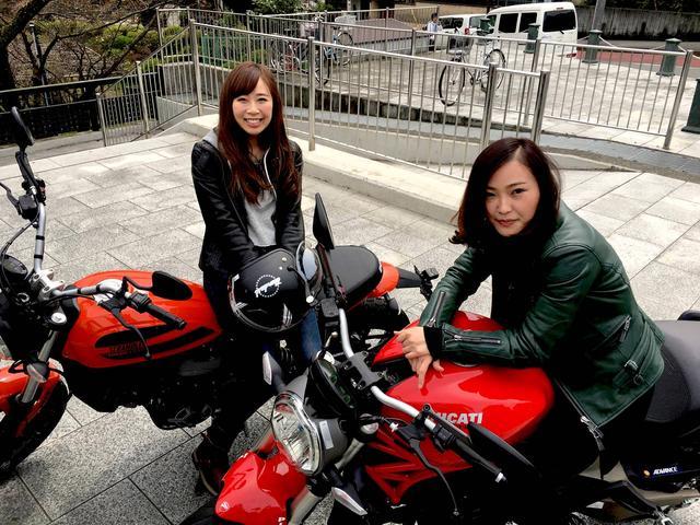 画像: 【ロレンス女子部ライダーへの道】Sixty2おしゃれすぎ❤︎憧れのDucati Scramblerに初試乗♪ - LAWRENCE - Motorcycle x Cars + α = Your Life.