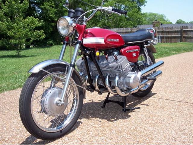 画像: カワサキ500SS マッハⅢ(H1)を5気筒化! 排気量は850ccです。 thekneeslider.com