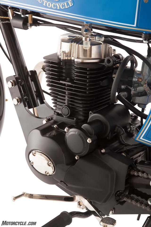 画像: マウント採用には賛成です。エンジンの振動でフレームに負荷がかかるし、色々なネジも緩みやすくなります www.motorcycle.com