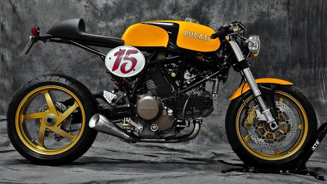 画像: Custom Ducati 750 SSie by Pepo Rosell www.youtube.com