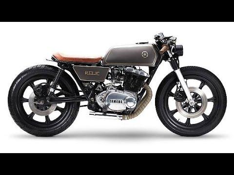 画像: 1977 Yamaha XS500 by Relic Motorcycles www.youtube.com