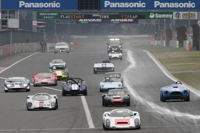 画像: 当時のマシンの本気の走りを見れますよ〜 www.autocar.jp