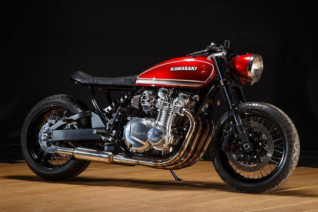 画像: Kawasaki KZ1000 by Krakenhead Customs www.youtube.com