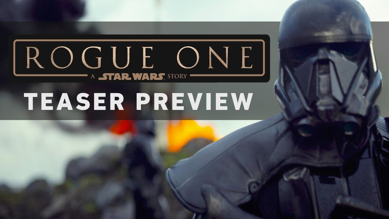 画像: ROGUE ONE: A STAR WARS STORY Teaser Preview www.youtube.com