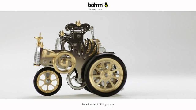 画像: Böhm-Stirling Auto A1 youtu.be