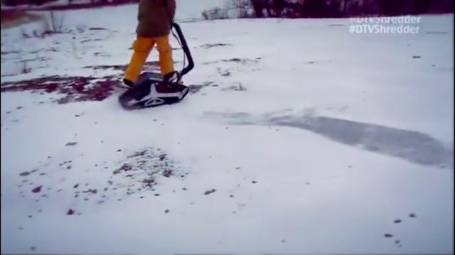 画像: 雪の上をクルクル走り回ったり・・・。 www.youtube.com